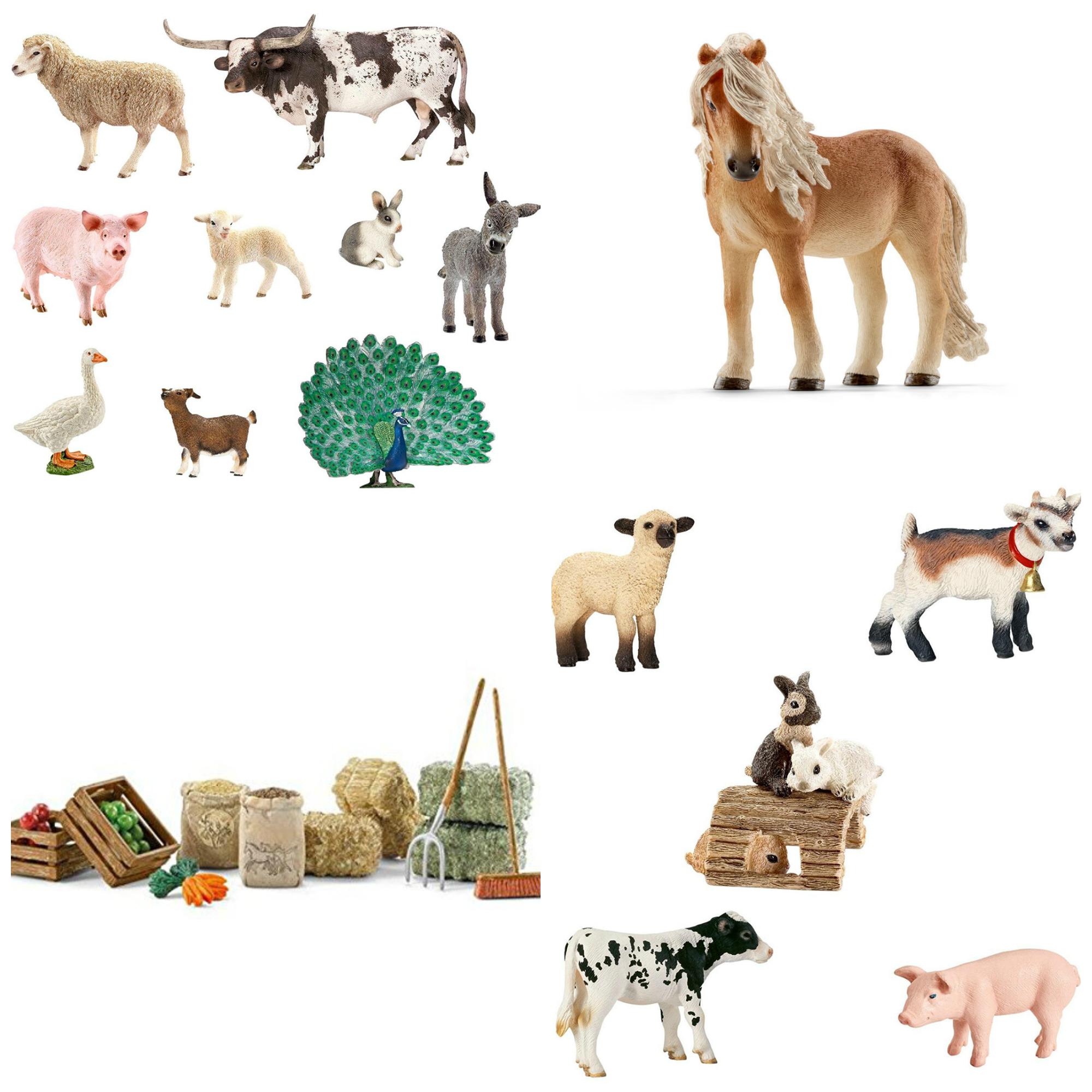 COLLAGE. Schleich Animals .jpg