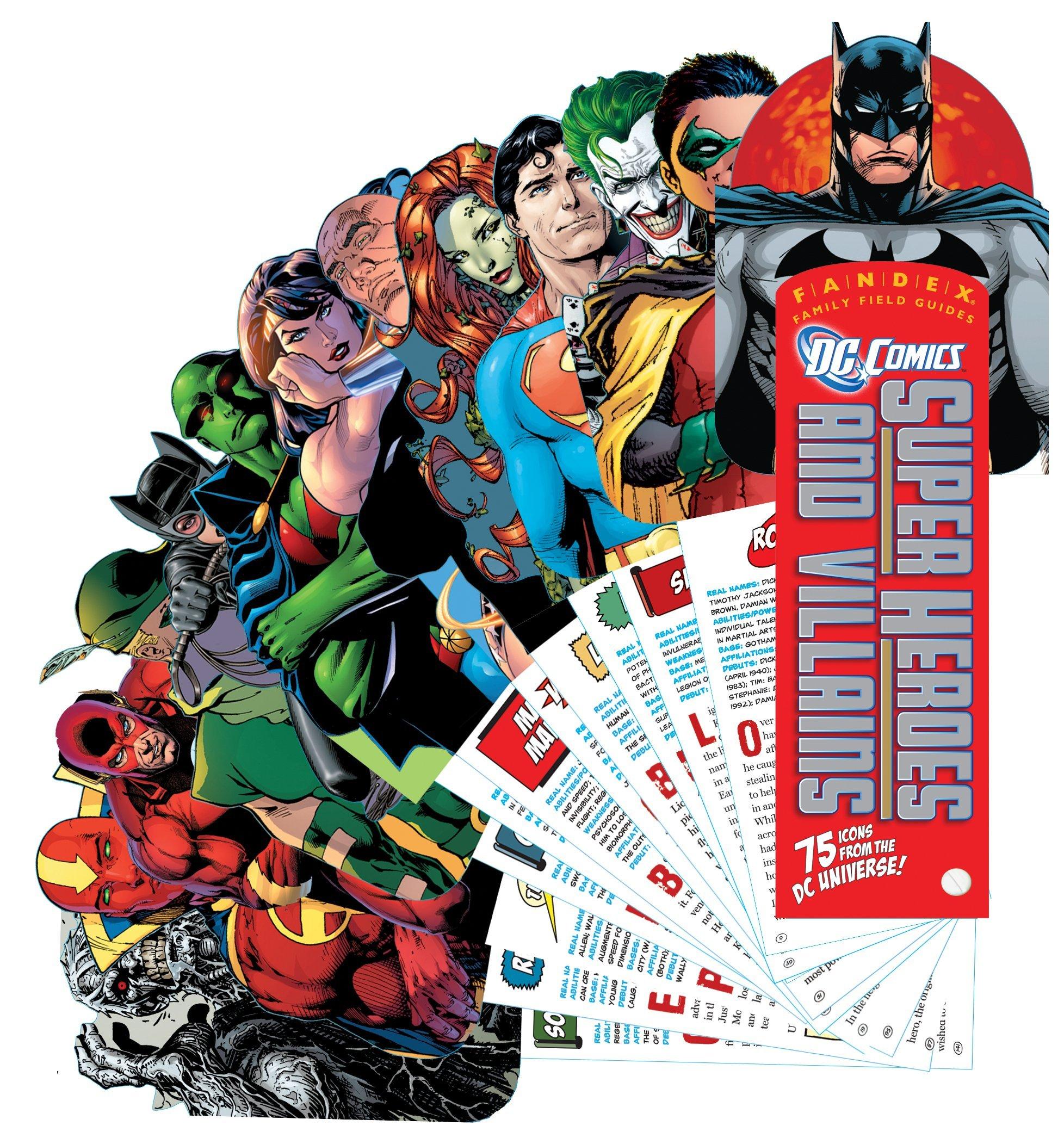 FA NDEX DC Comics Super Heroes and Villains