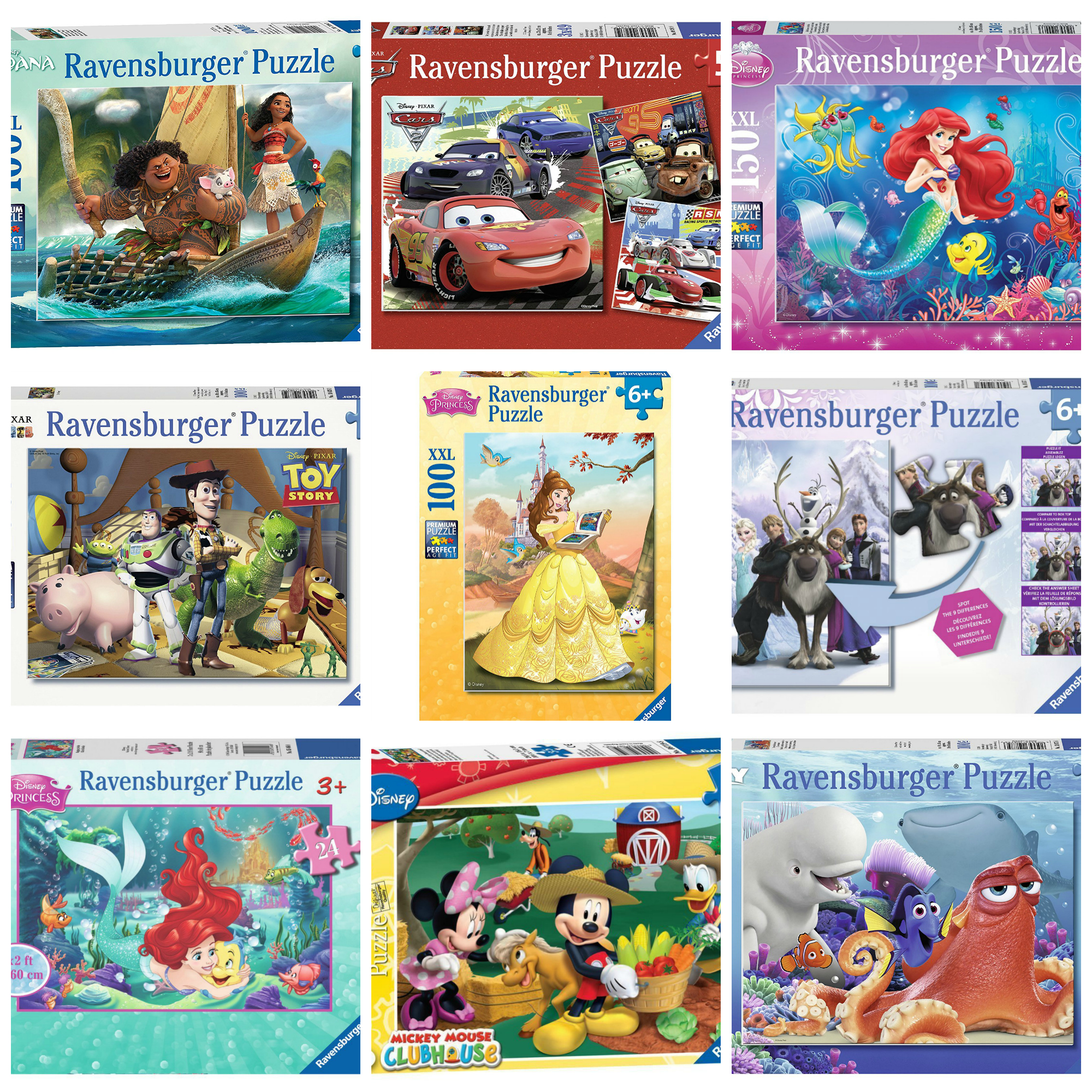 CLICK HERE TO VIEW ALL RAVENSBURGER DISNEY