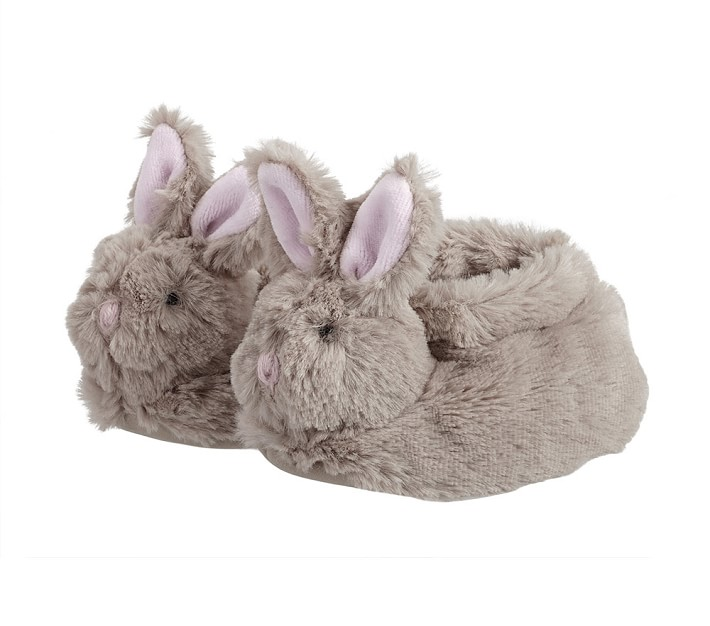 Pottery Barn Kids Baby Bunny Slippers