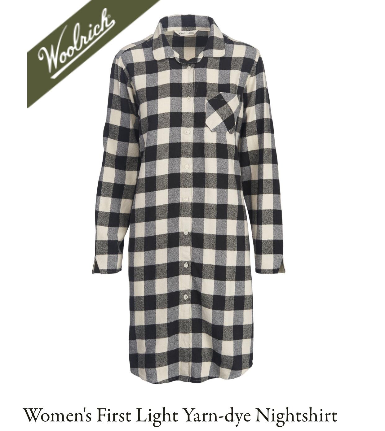 Woolrich First Light Flannel Nightshirt