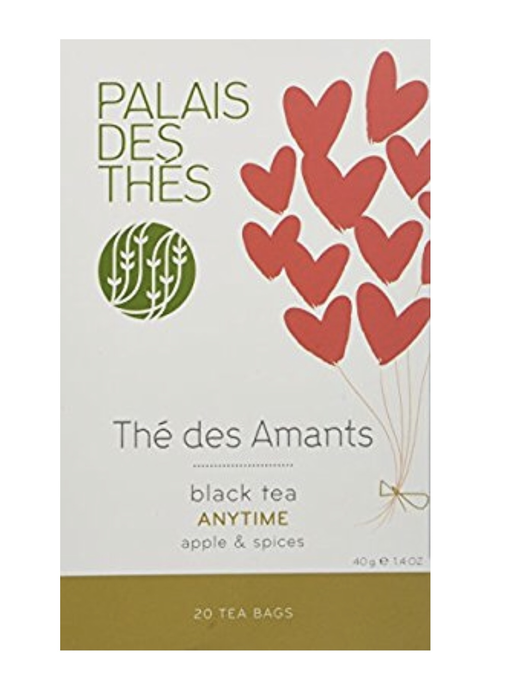Palais Des Thes, The des Amants, Anytime Black Tea, Apple and Spices