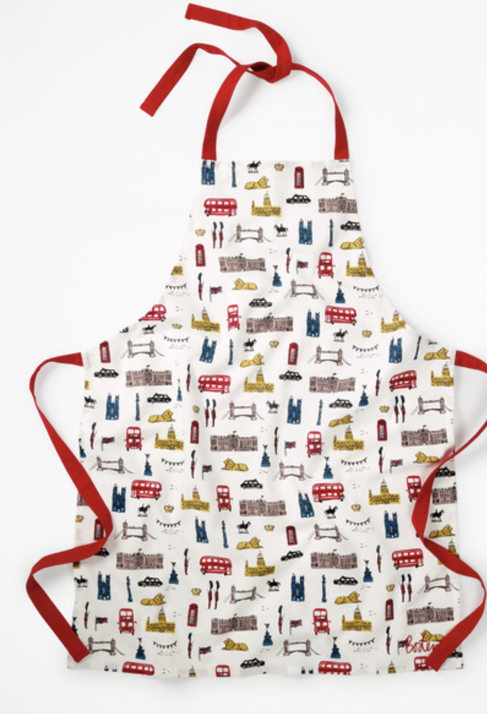 Boden Fun Apron- London Theme