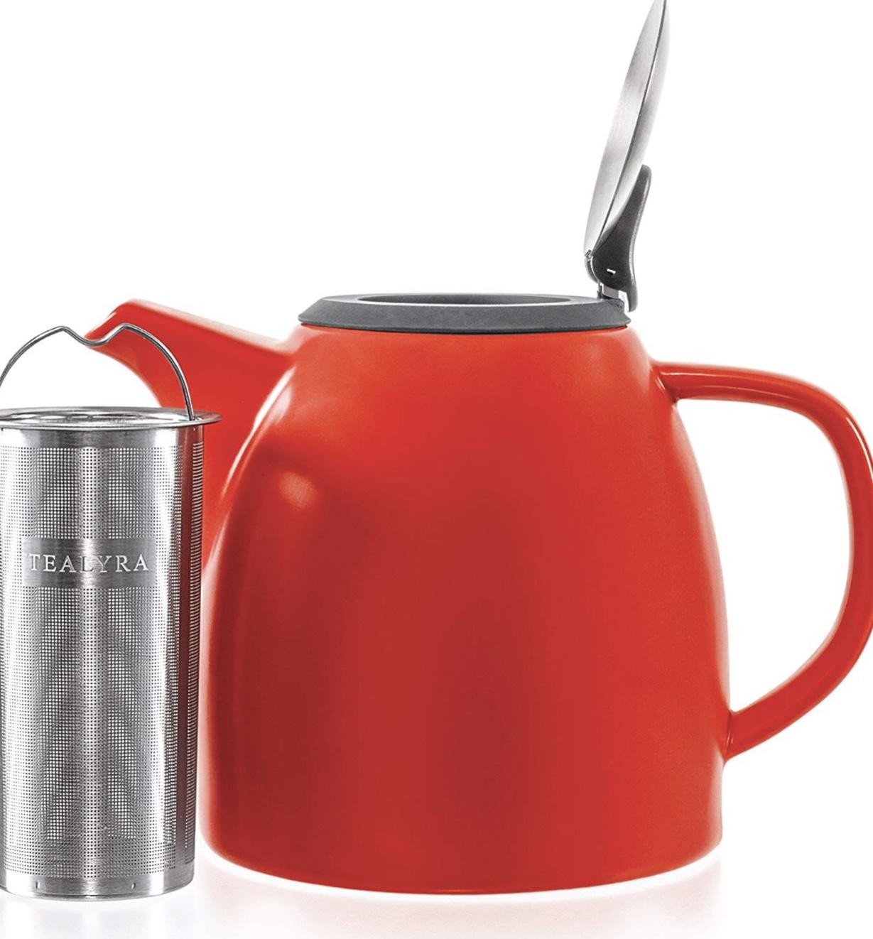 Tealyra Drago Teapot- Red