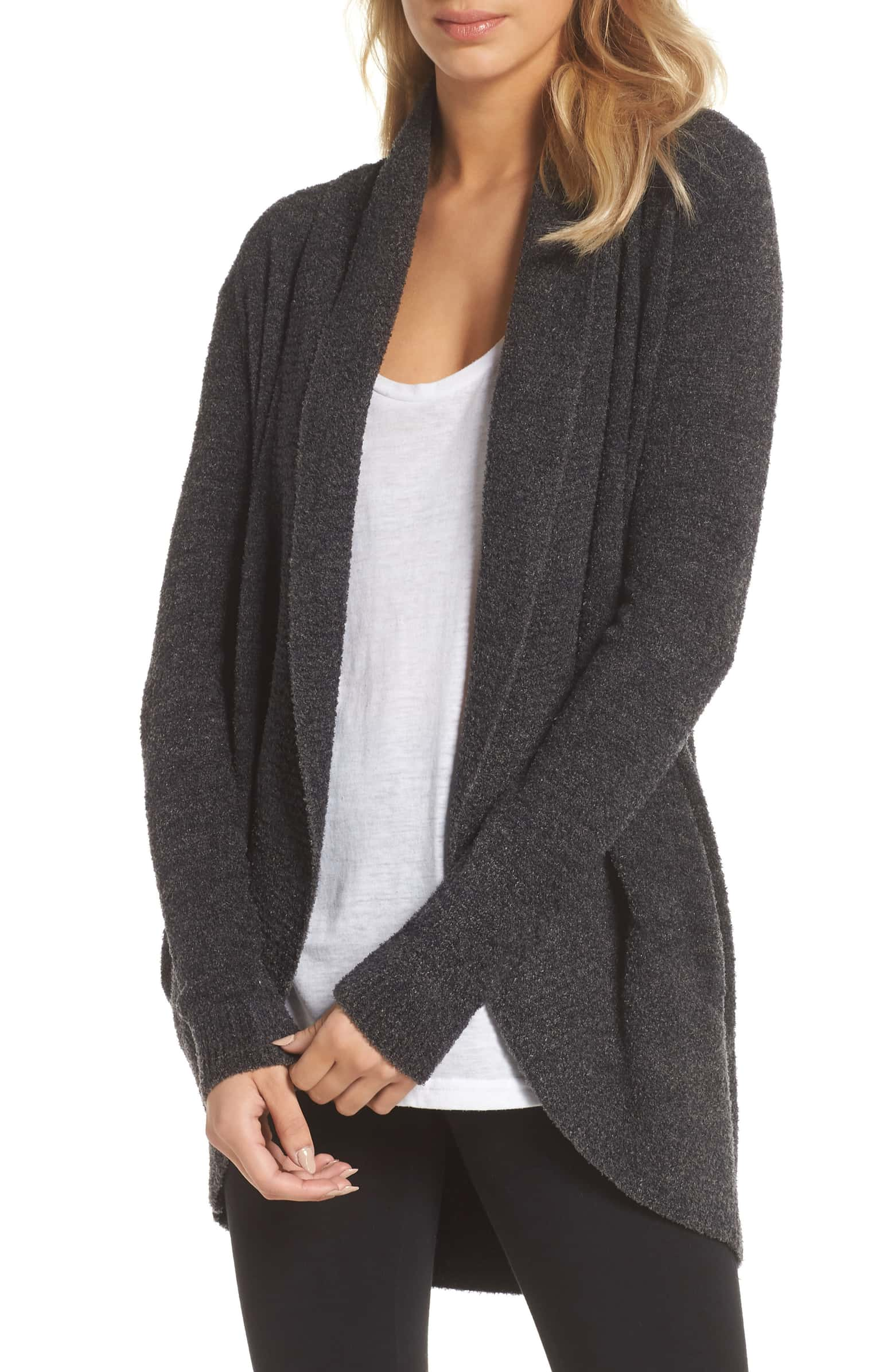 Barefoot Dreams CozyChic Light Circle Cardigan