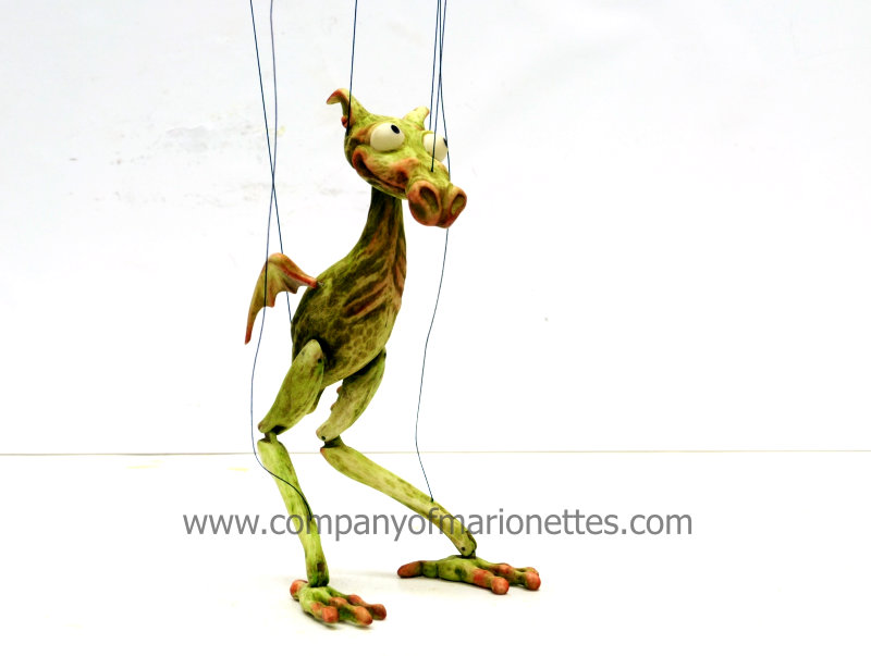 Green Dragon Marionette