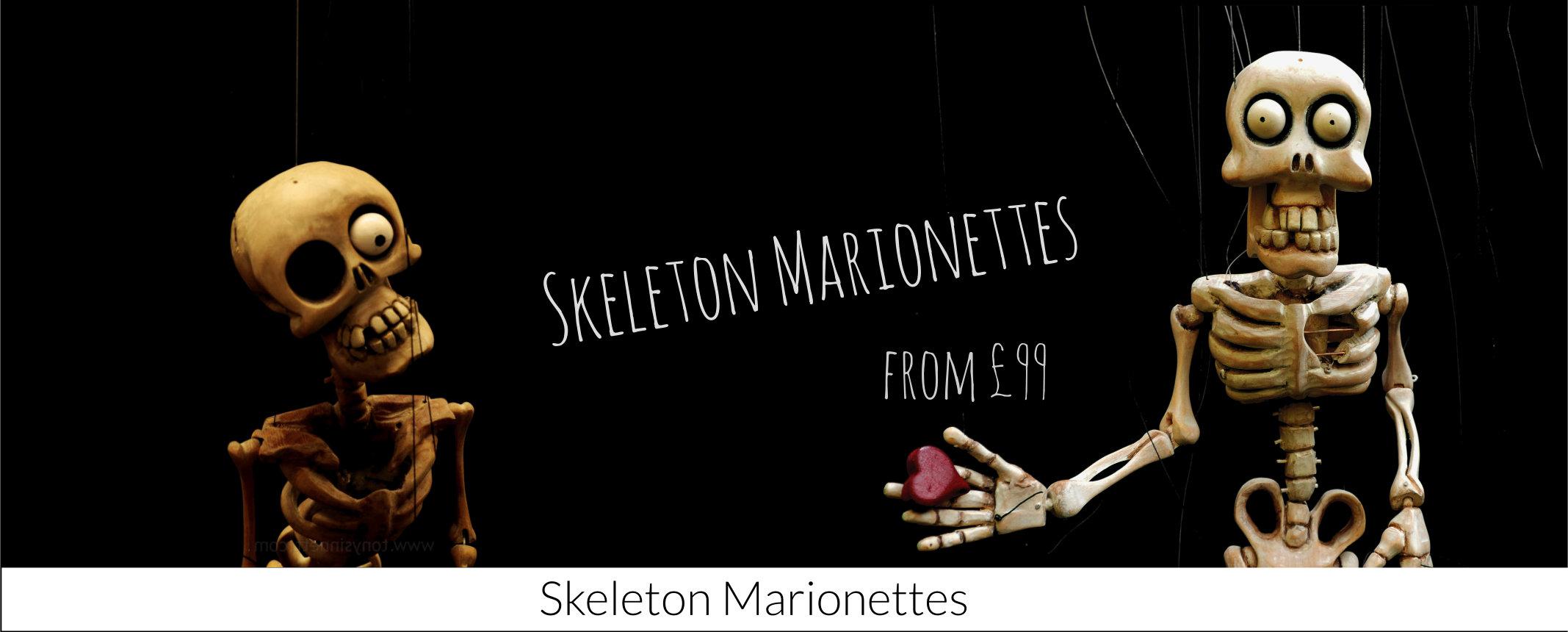 Skeleton Marionettes