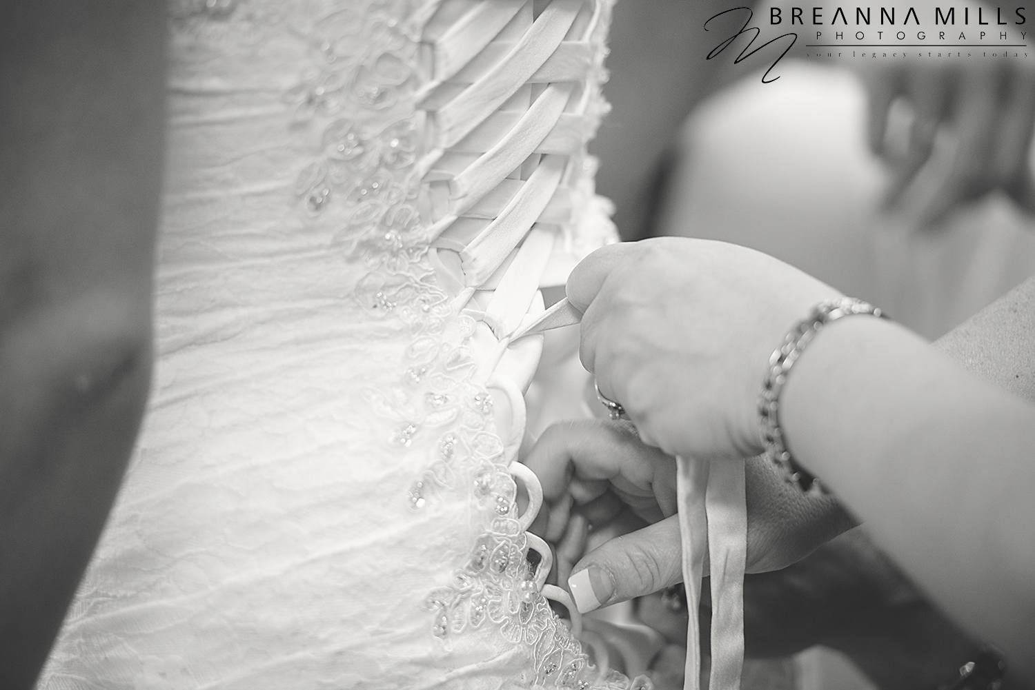 Johnson City Wedding Photographer, Breanna Mills Photography captures detail shots of bride on wedding day.
