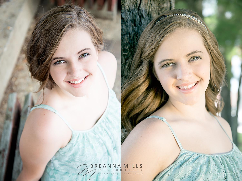 Johnson City, TN Senior and Model photographer, Breanna Mills Photography captures this high school senior, model in downtown Johnson City, TN