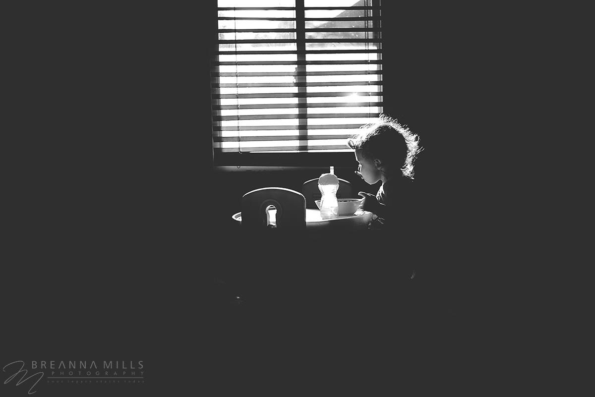 Johnson City, TN photographer Breanna Mills Photography wins low light photo contest with indoor portrait. Winner of prize pack from Robin Chavez Photography.