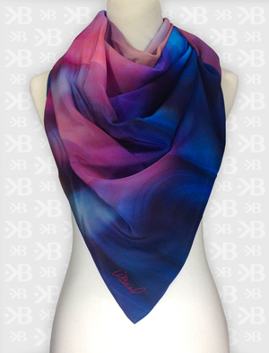 and here is the scarf Celestial I