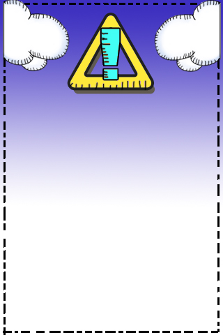help screens: warning screen