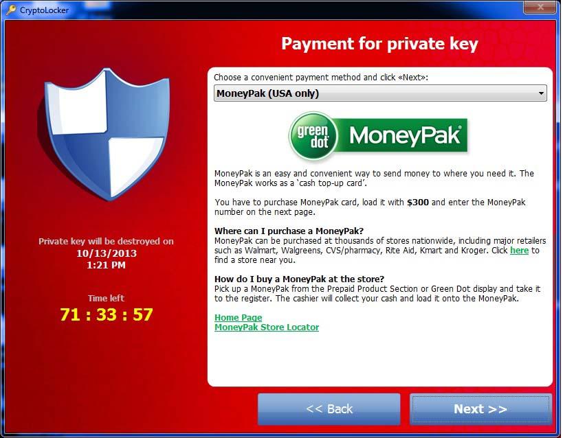 CryptLocker at work...