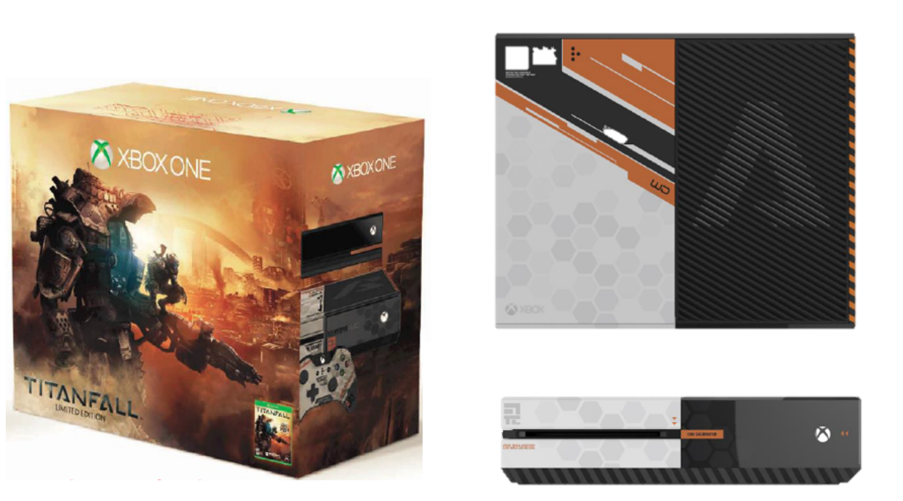 Limited Edition  Titanfall  themed Xbox One.