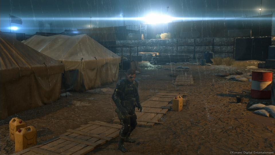 Xbox One Night Mission Scene
