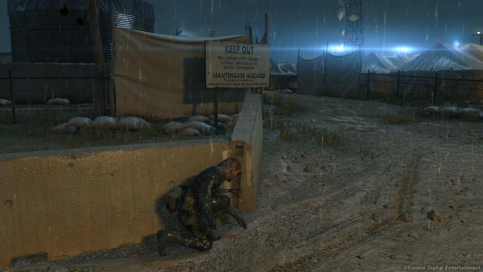 PS4 Night Mission Scene