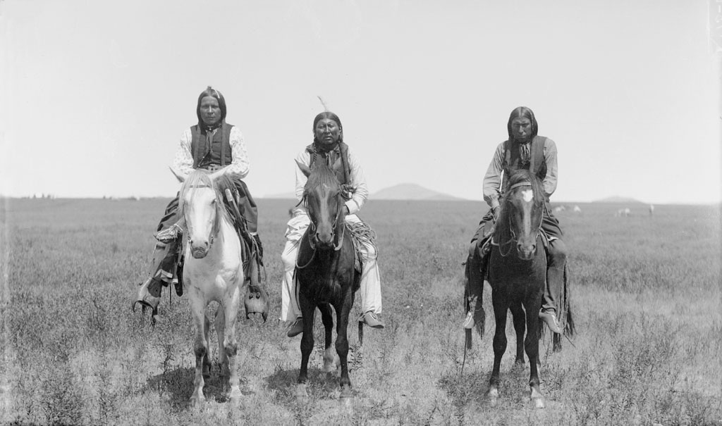 Comanche Native Americans near present-day Zephyr, Texas (where the Beidleman Ranch is).