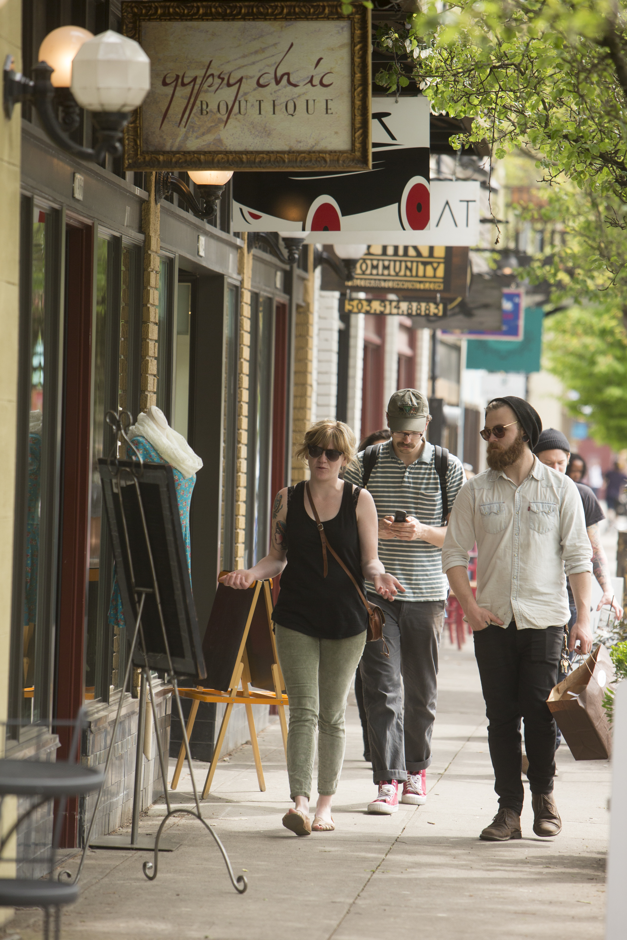 PORTLAND, OR - DECEMBER 5, 2014: Design abounds on Historic Mississippi Avenue in North Portland. CREDIT: Leah Nash for The New York Times
