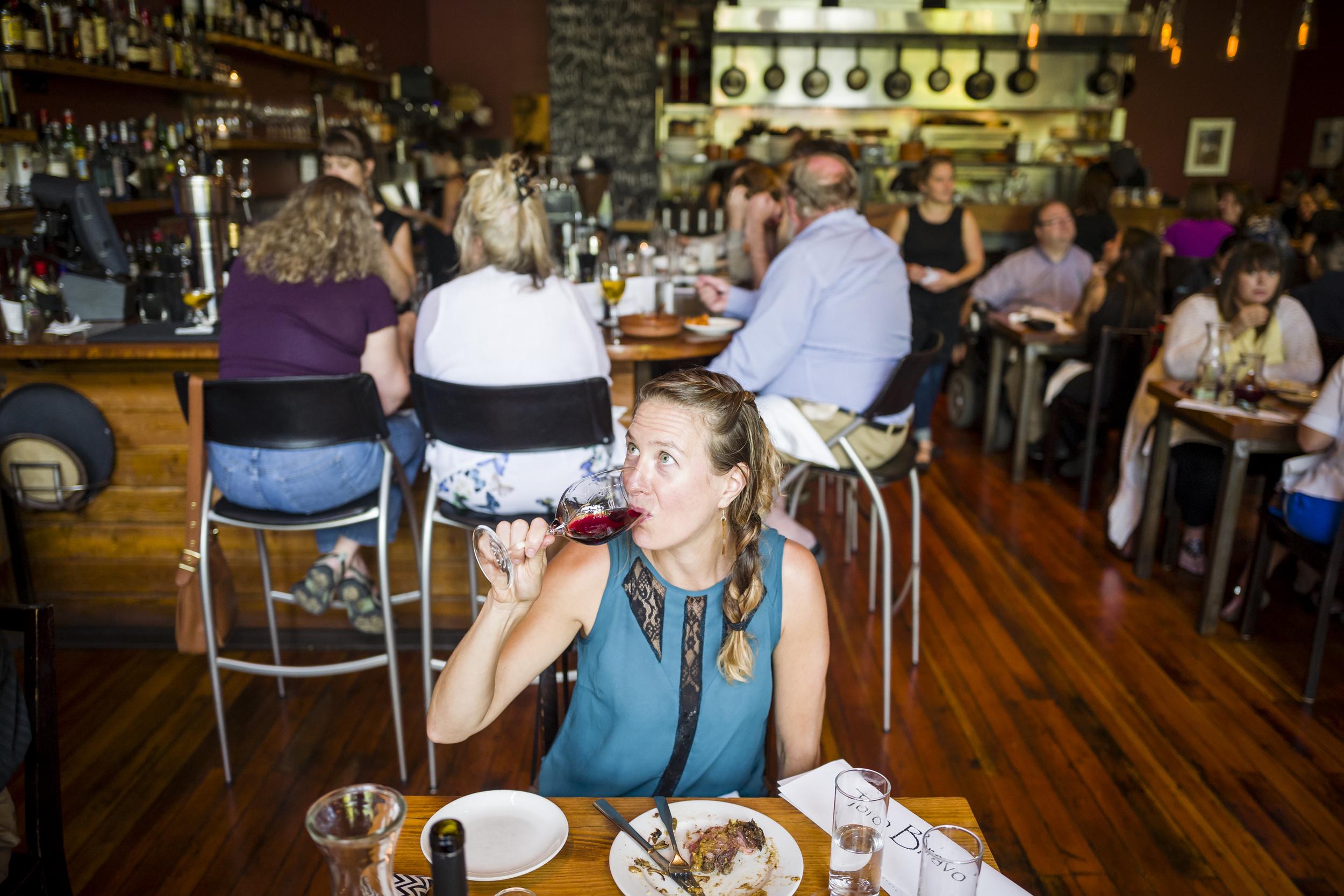 Toro Bravo, portland Oregon restaurant.