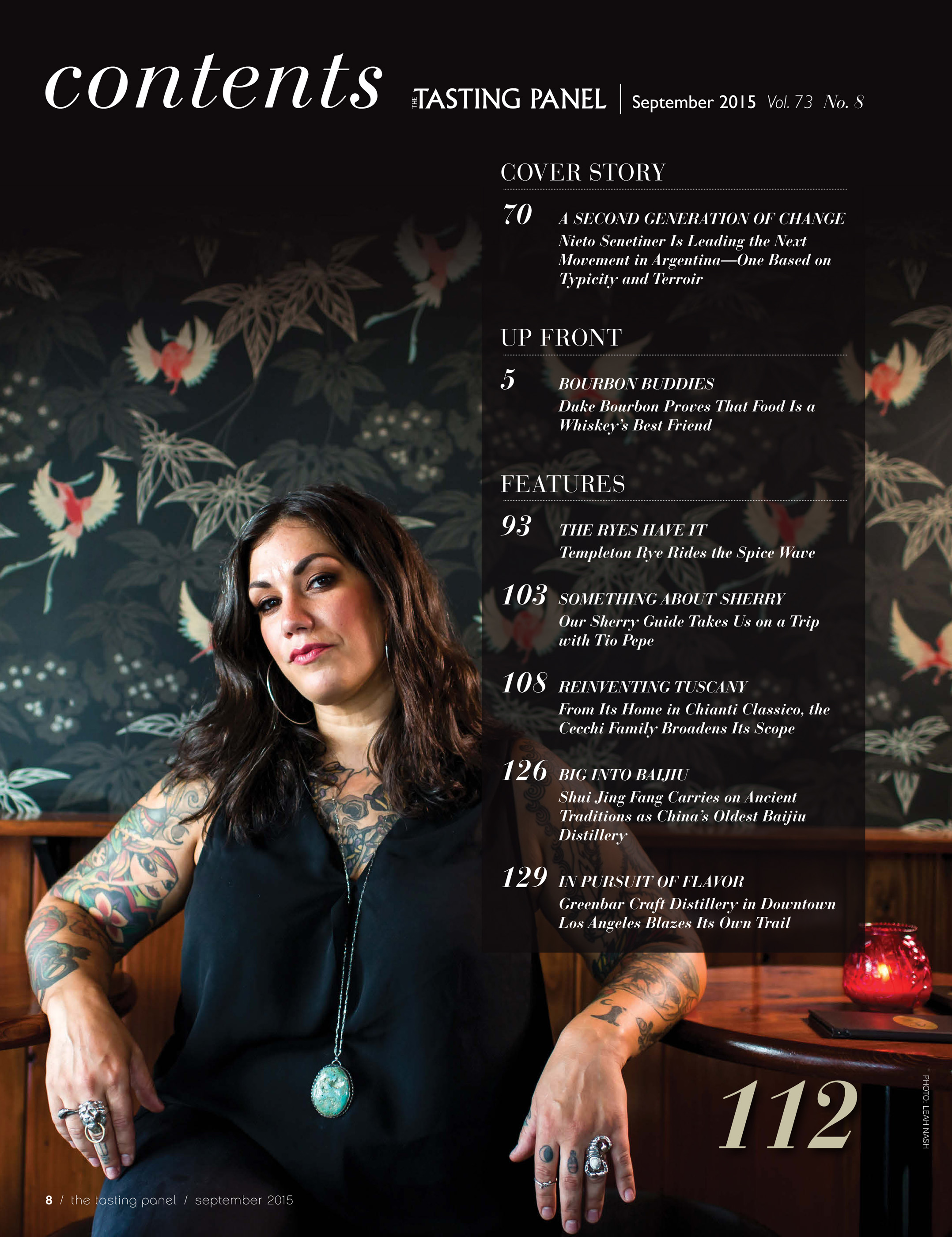 Bar Manager Emily Mistell at The Rum Club, Portland Oregon