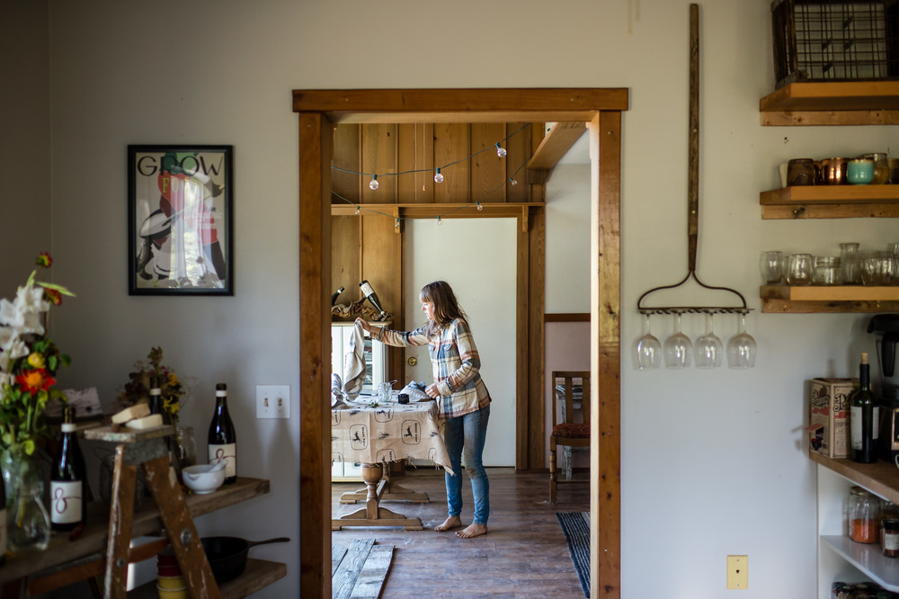 Andrea and Taylor Bemis, Tumbleweed Farm, Parkdale, Oregon. NashCO Photo on assignment for EatingWell.