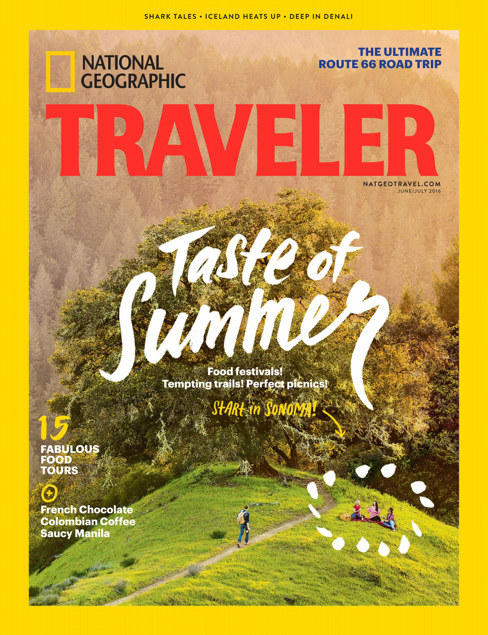 National Geographic Traveler USA - June-July 2016