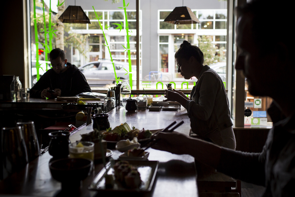 Bamboo Sushi restaurant, Portland Oregon