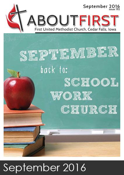 september news first methodist church cedar falls iowa