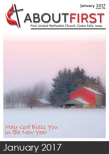 january aboutfirst newsletter first methodist church cedar falls iwoa