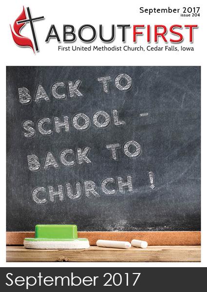 Sept News First  United Methodist Church Cedar Falls