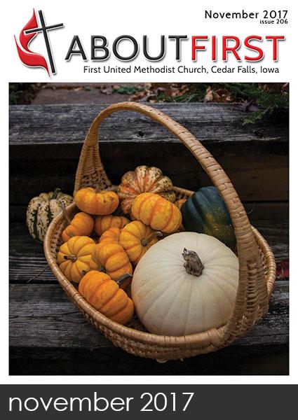 november news first methodist church cedar falls iowa