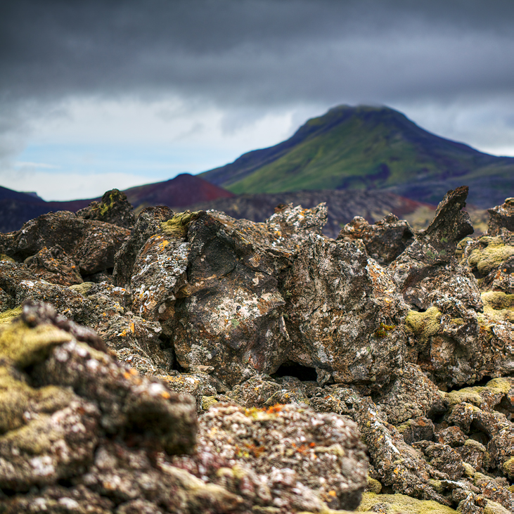 Volcanic Rock Study #3 |   Archival pigment print 73x73cm