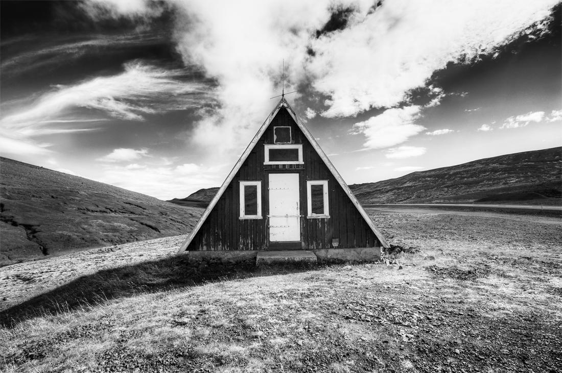 A-Frame House |   Archival pigment print 109x73cm
