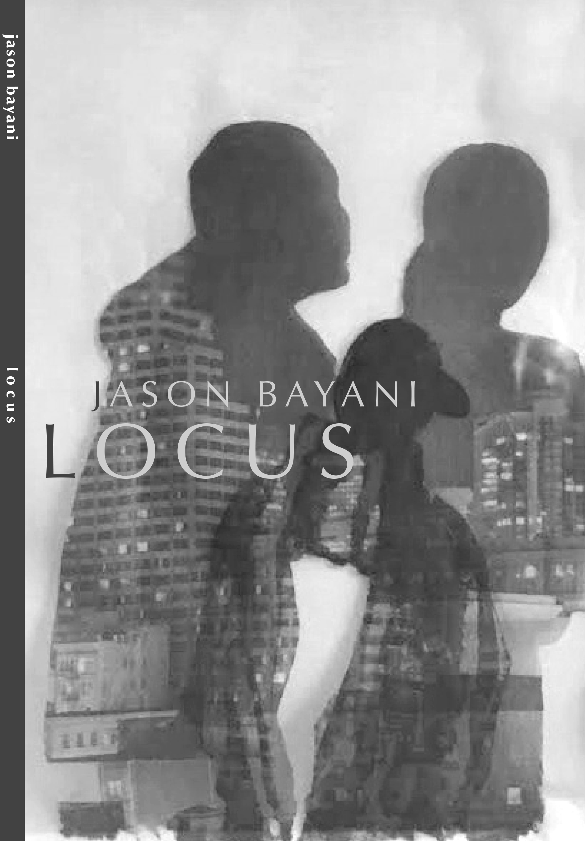 "- I'm very honored to have my artwork ( Flashback, 2018, Image transfer on synthetic organza, 13"" x 17"" from my TL Dreams series) on the cover of Jason Bayani's new poetry book ""Locus."" Pick up your copy now!Graphic design by Gillian Olivia Blythe HamelPublished by Omnidawn Publishing, Oakland, CA"