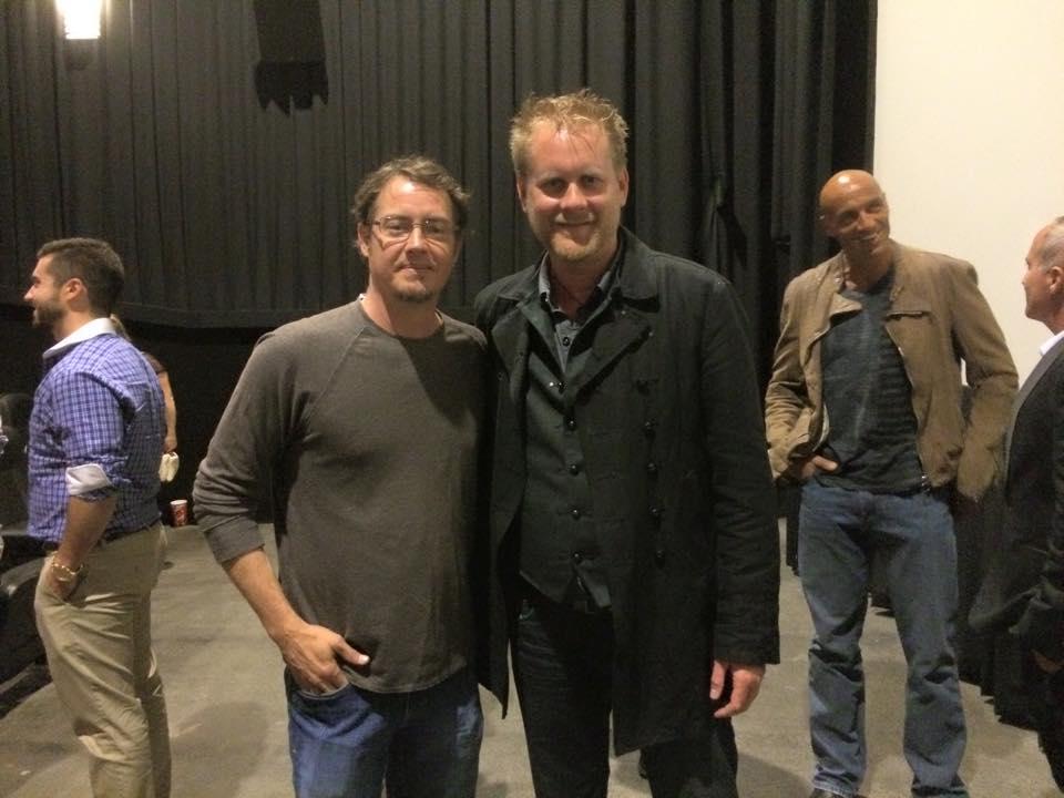 AWAKEN Premiere - Jason London and Brian Ralston