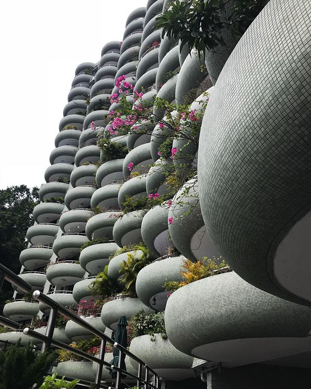 Balconies #Hongkong #architecture