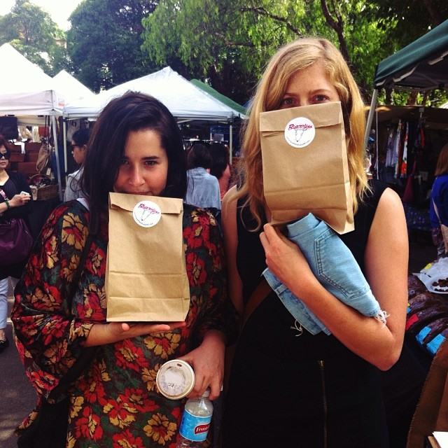 Thanks for hanging out with us at the markets this weekend.  You're even better looking in person.
