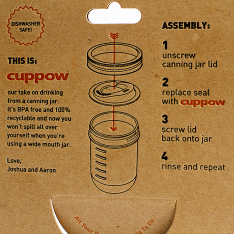 Cuppow-Label