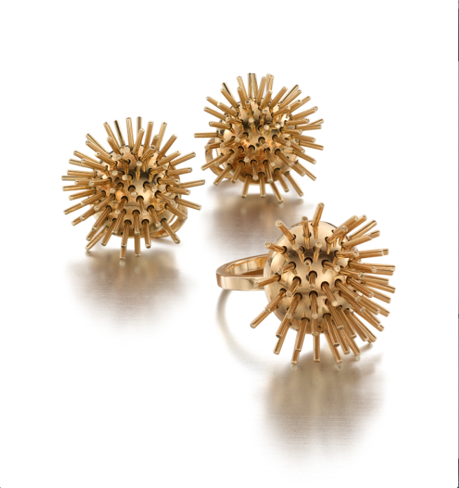 Earrings-Ring-Suite-Pol-Bury-Belgian-ca.1975-gold-Siegelson-New-York1