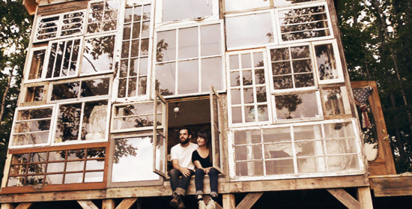 To Follow up on our  Off The Grid predictions  back in 2011.  In 2012, Nick Olson and designer Lilah Horwitz  quit their jobs and set off  to build a glass cabin in the mountains of West Virginia.   Read More
