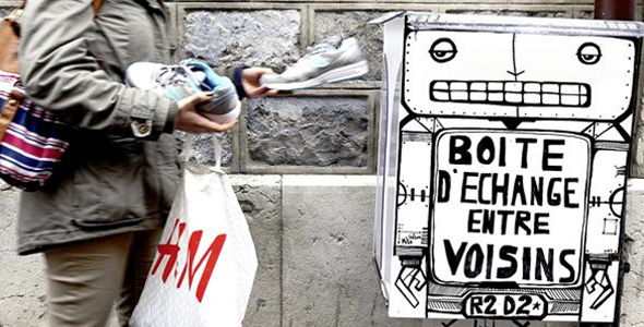 """""""Boost trade, alleviate urban anonymity,"""" is the goal of the new community art project that has recently been set up in Geneva called Boîtes d'Échange Entre Voisins, or in English, the Neighborhood Exchange Boxes.    Read More"""