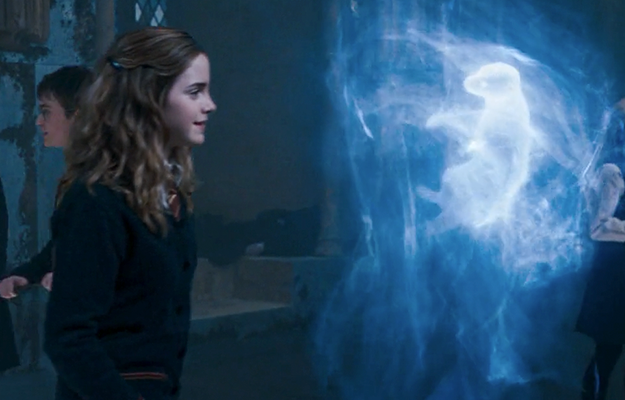 Hermione's patronus is an otter.