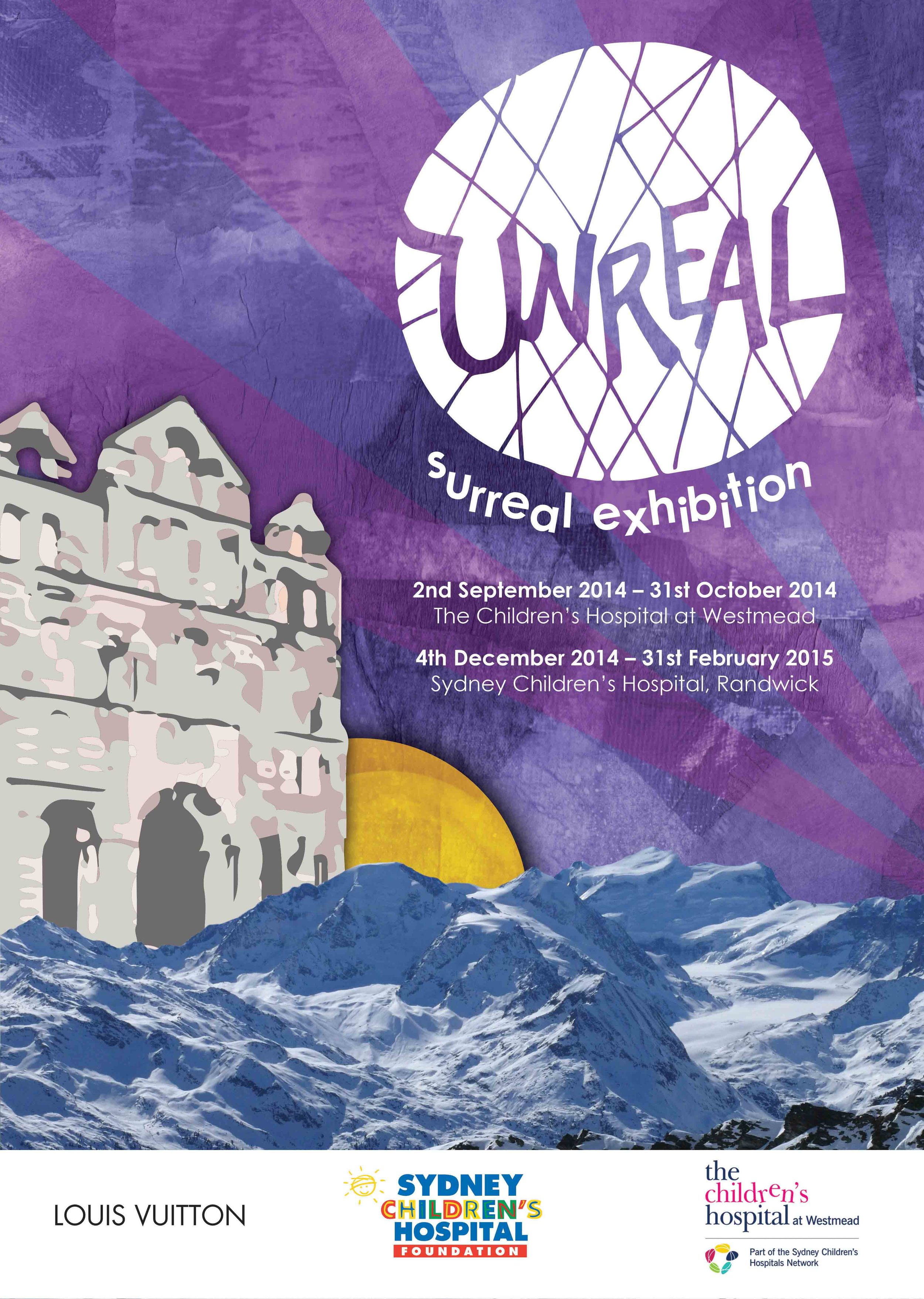 'Unreal' Surrealism Exhibition - 'The Sydney Children's Hospital' and 'The Children's Hospital Westmead'