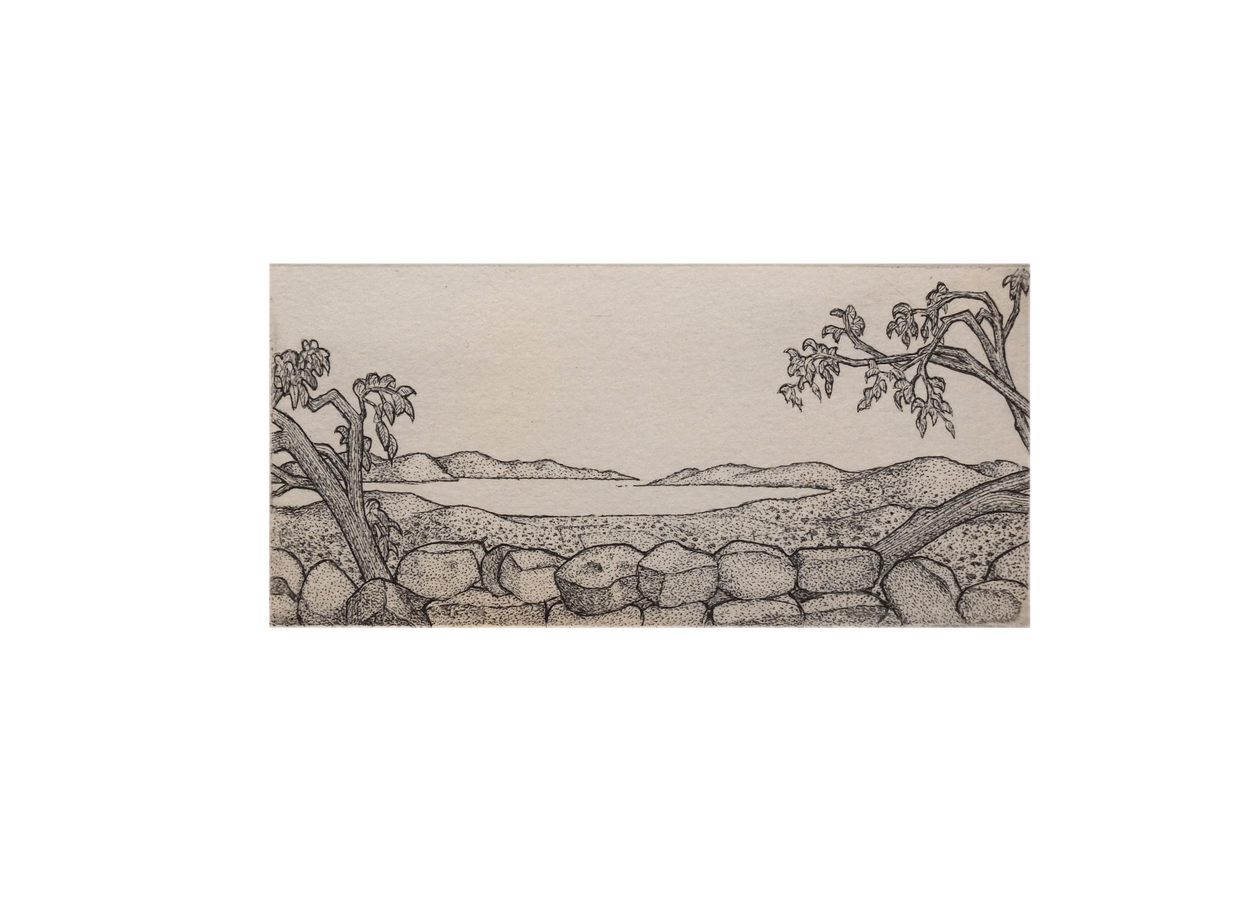 'View From Troizen Acropolis'