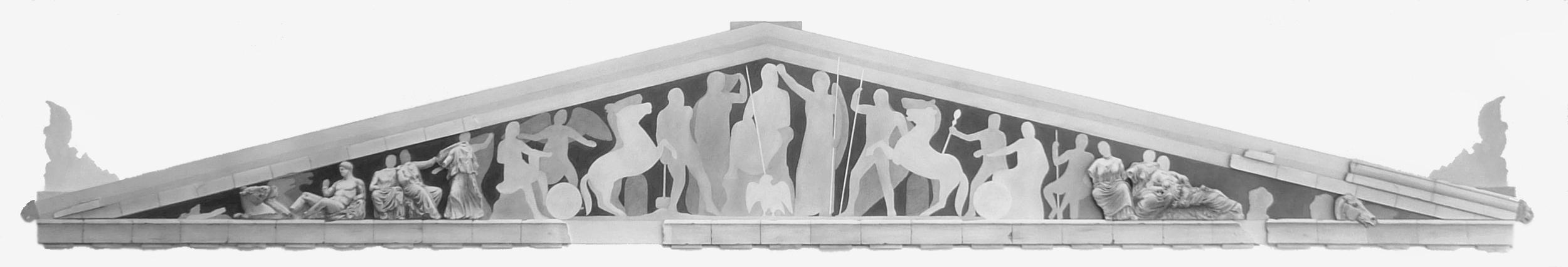 'Parthenon Pediment (East)'