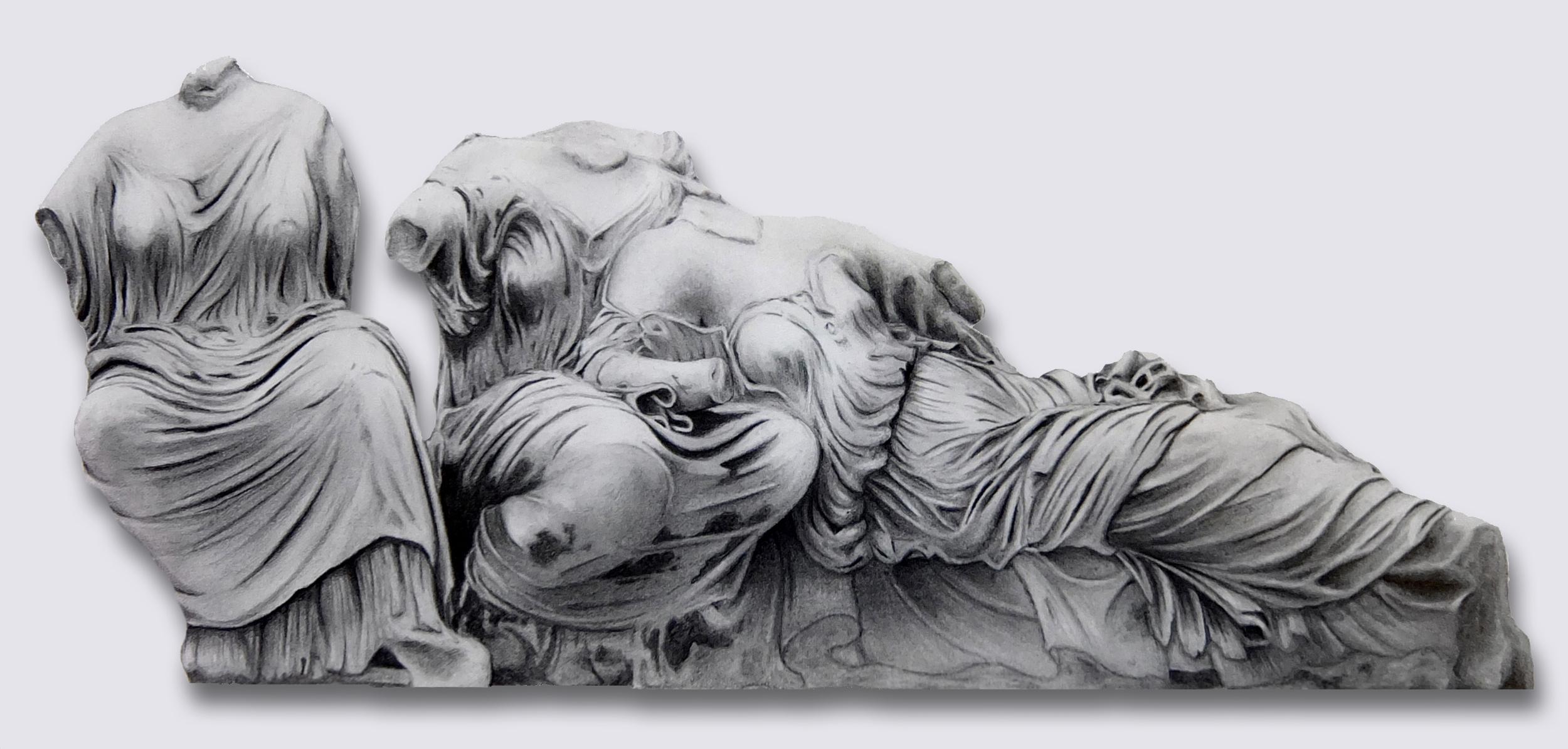 'Three Parthenon Goddesses'