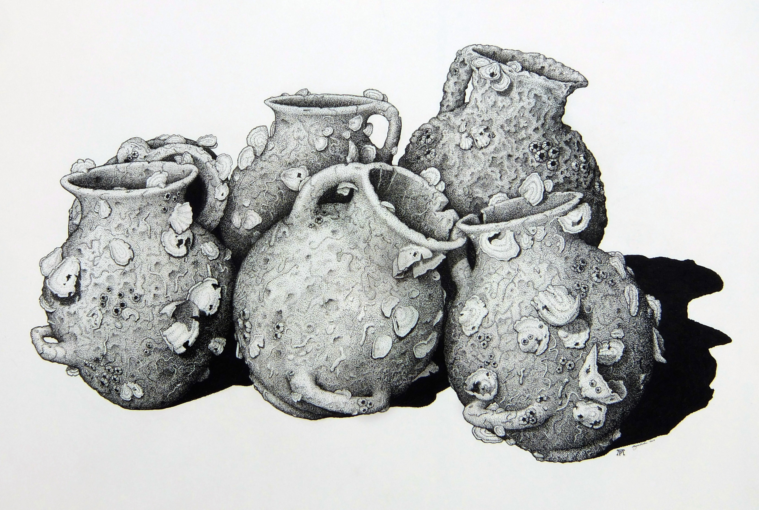 'Amphora From The Sea Floor'