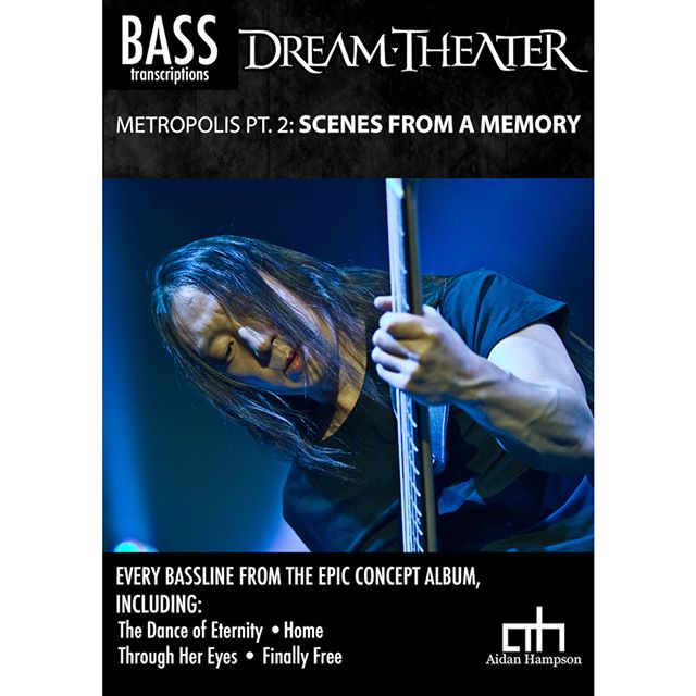 Out now! Dream Theater - Metropolis Pt. 2: Scenes from a Memory⁣ ⁣⁣ ⁣Every bassline from the epic concept album - link in bio!