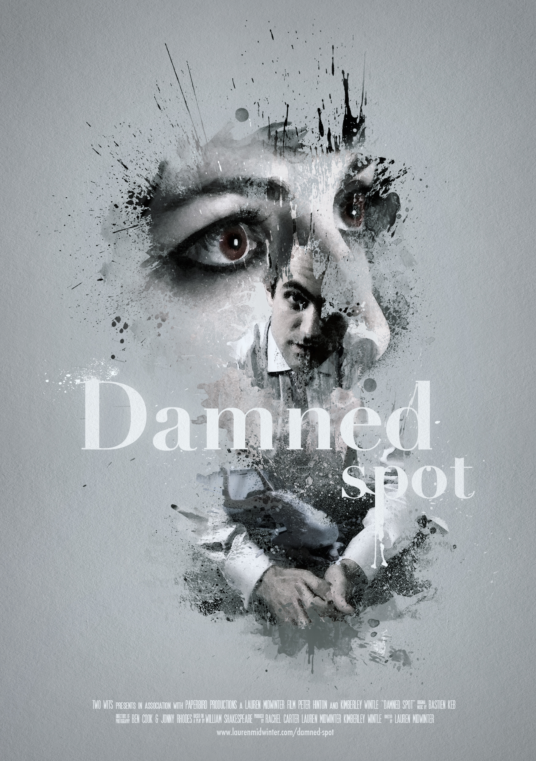'Damned spot' artwork by Luke Harmer