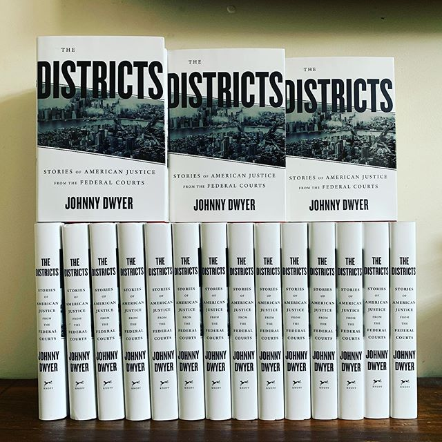 One week until publication date for #TheDistricts. Pre-order your copy today (link in bio). Or stop by @wordbookstores in Brooklyn in 10/3 at 7 p.m. or the New America Foundation in DC on 10/7 for a 12:45pm lunch book discussion of all things #sdny #edny and #doj.